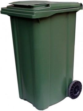 Plastik Çöp Konteyneri 240 Litre